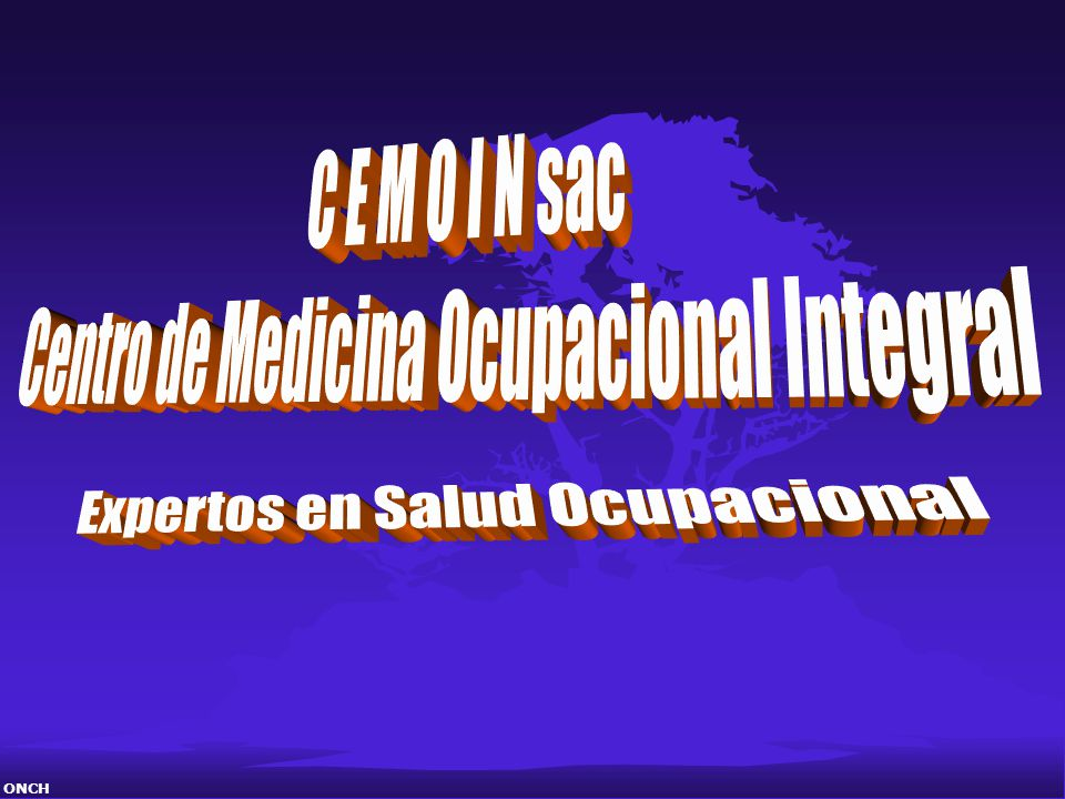 Centro de Medicina Ocupacional Integral