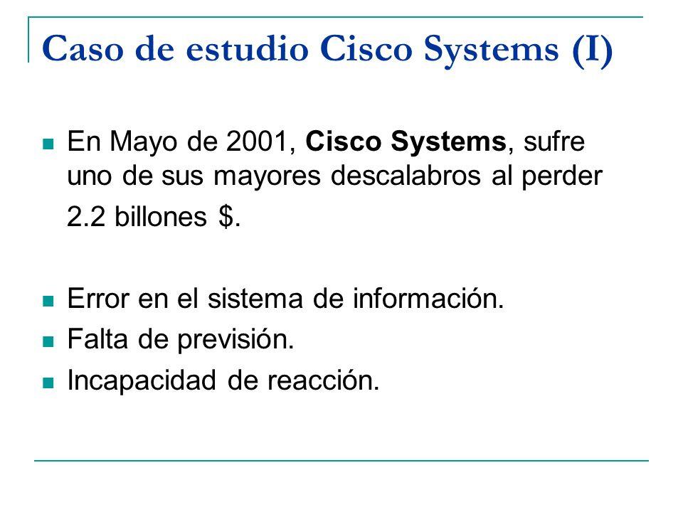 Caso de estudio Cisco Systems (I)
