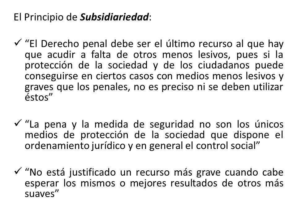 El Principio de Subsidiariedad: