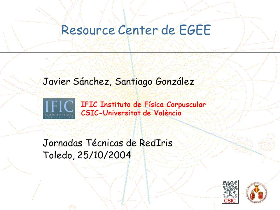 Resource Center de EGEE