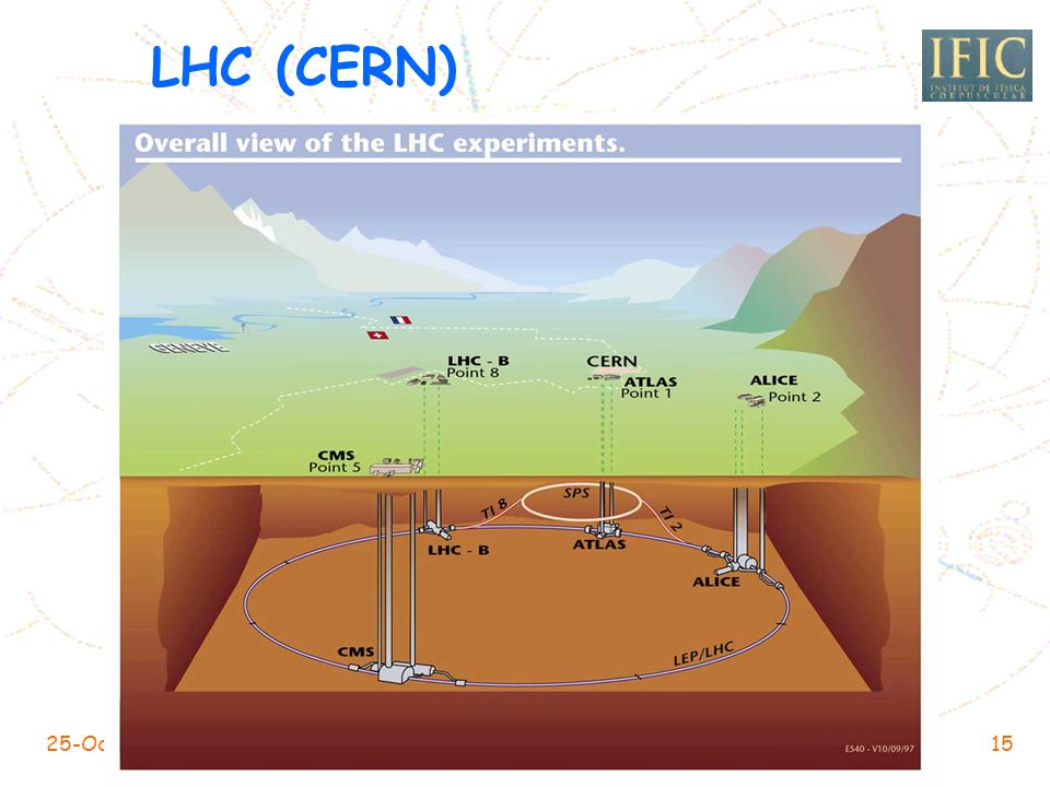 LHC (CERN) 25-Oct-2004 IRISGRID-EGEE