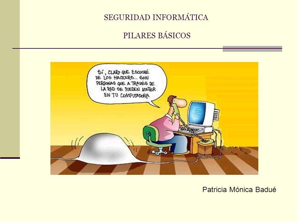 SEGURIDAD INFORMÁTICA PILARES BÁSICOS