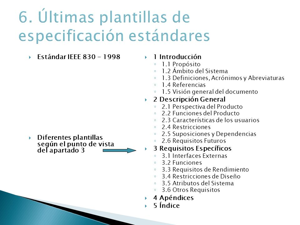 Especificación de requisitos - ppt video online descargar