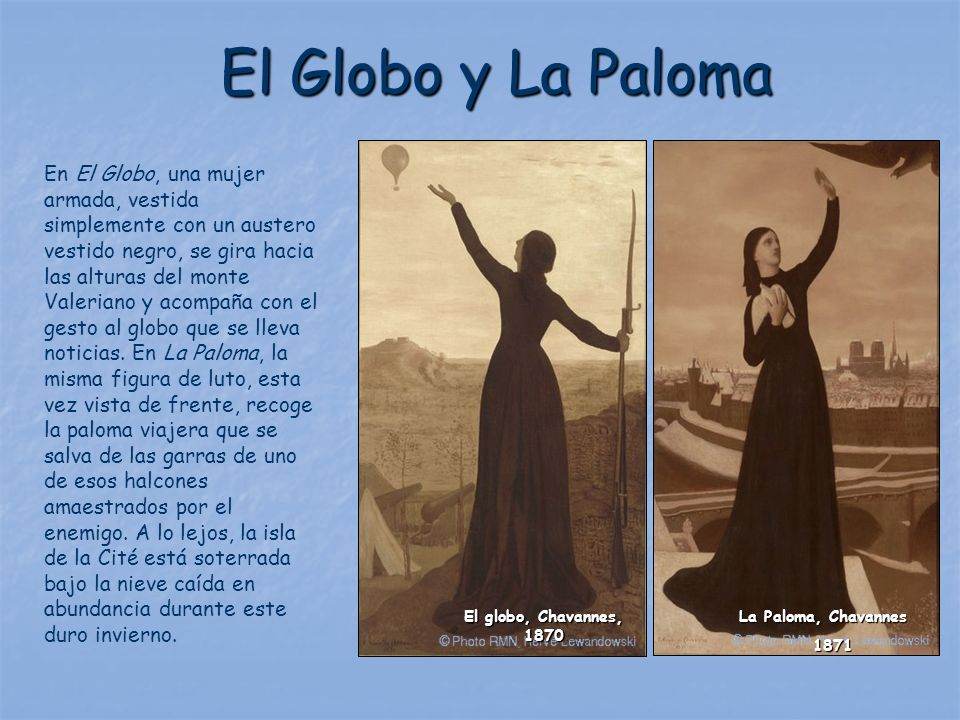 El Globo y La Paloma