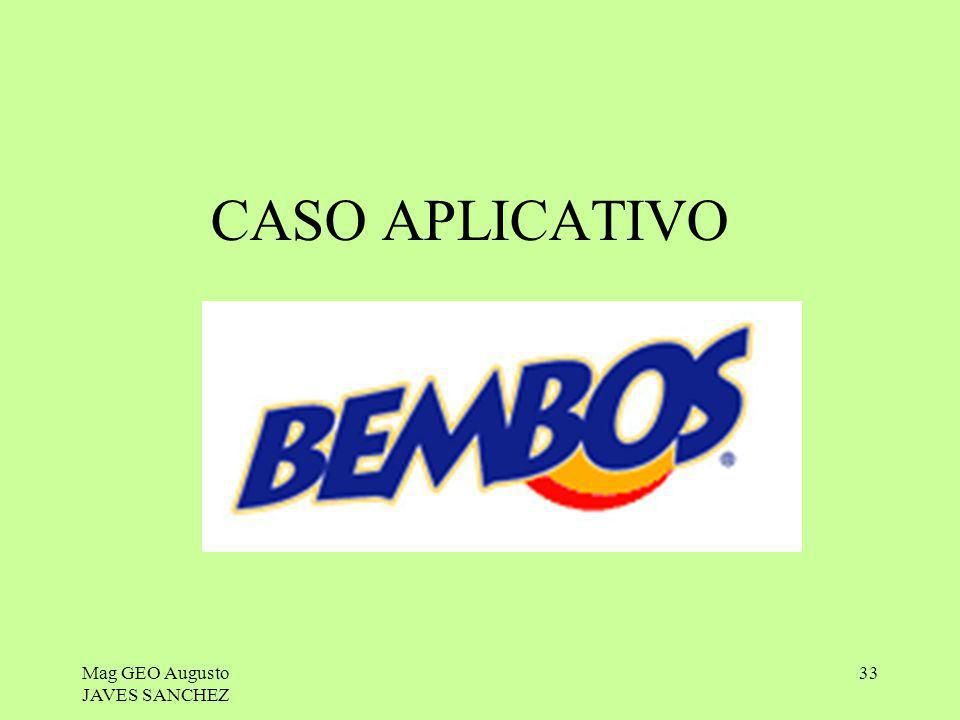 CASO APLICATIVO Mag GEO Augusto JAVES SANCHEZ