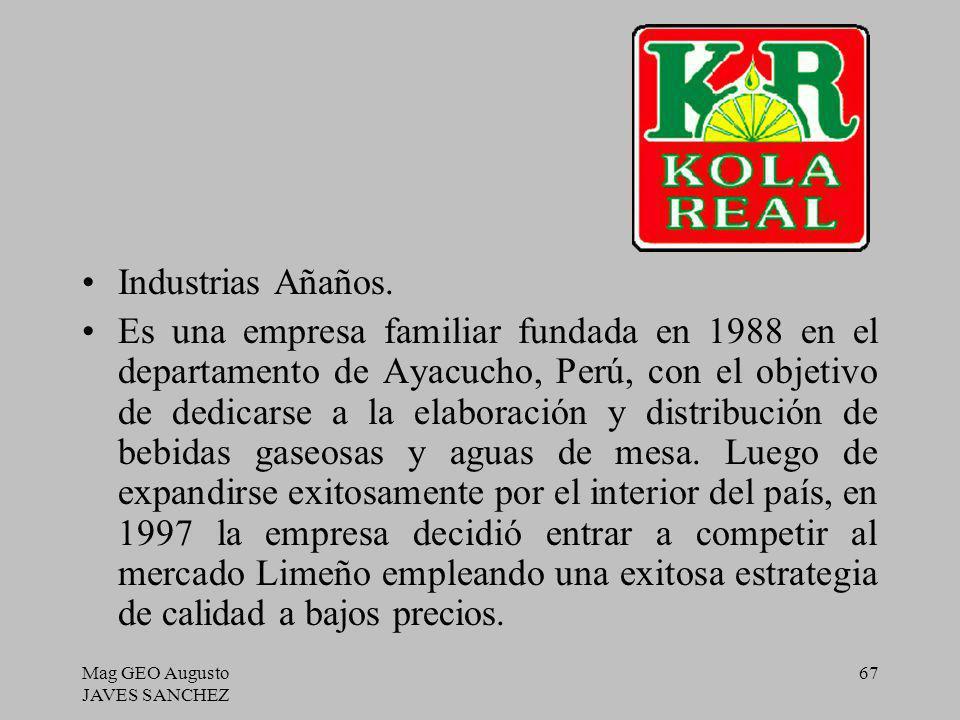 Industrias Añaños.