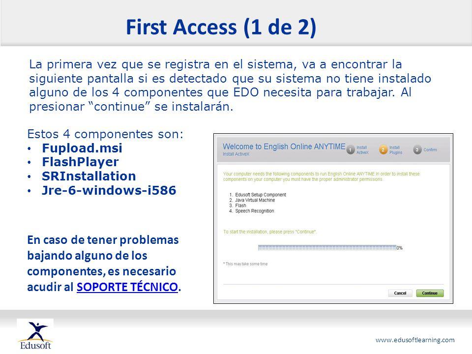 First Access (1 de 2)