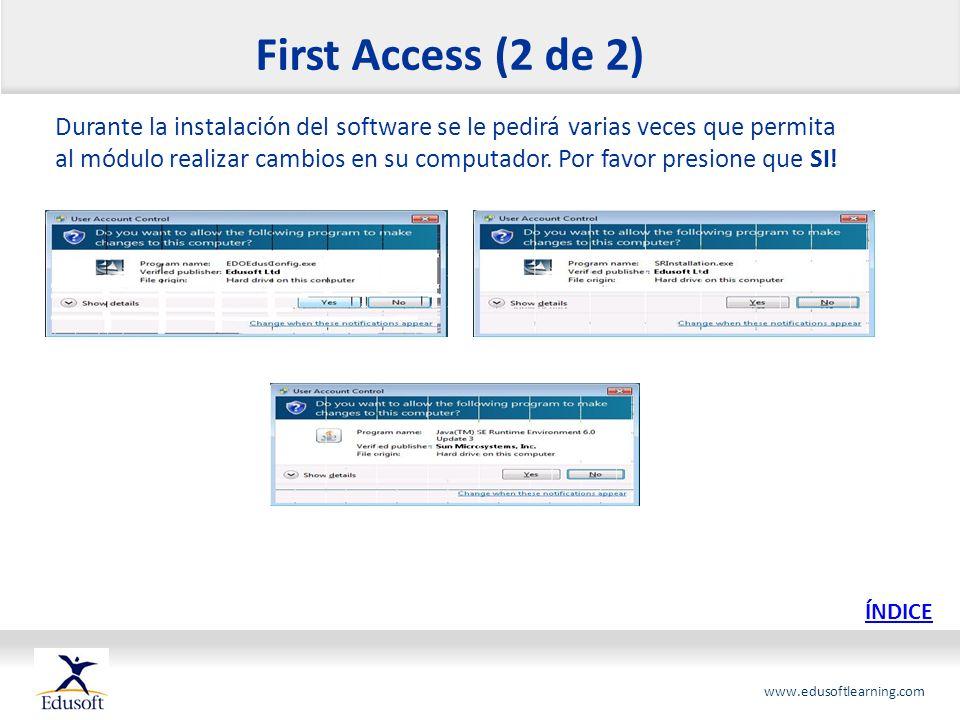 First Access (2 de 2)