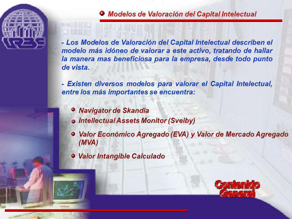 Modelos de Valoración del Capital Intelectual