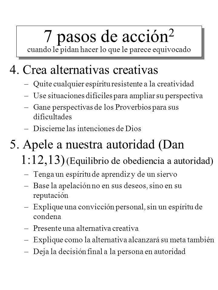 7 pasos de acción2 cuando le pidan hacer lo que le parece equivocado