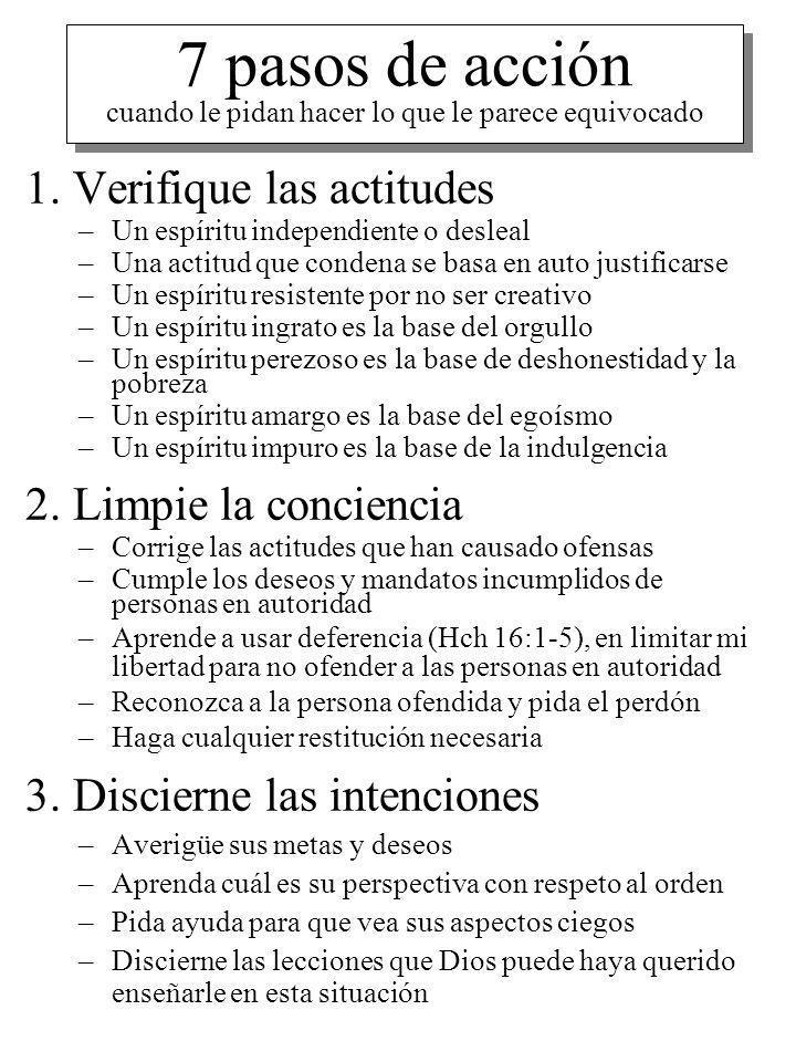 7 pasos de acción cuando le pidan hacer lo que le parece equivocado