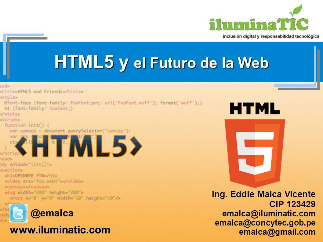 HTML5 y el Futuro de la Web