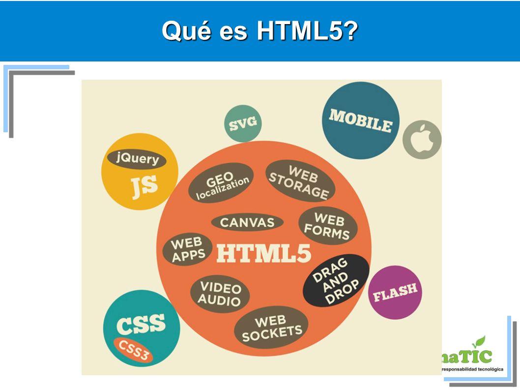 Qué es HTML5 5