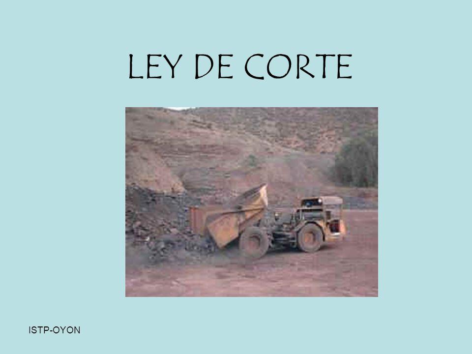 ISTP - OYON LEY DE CORTE ISTP-OYON