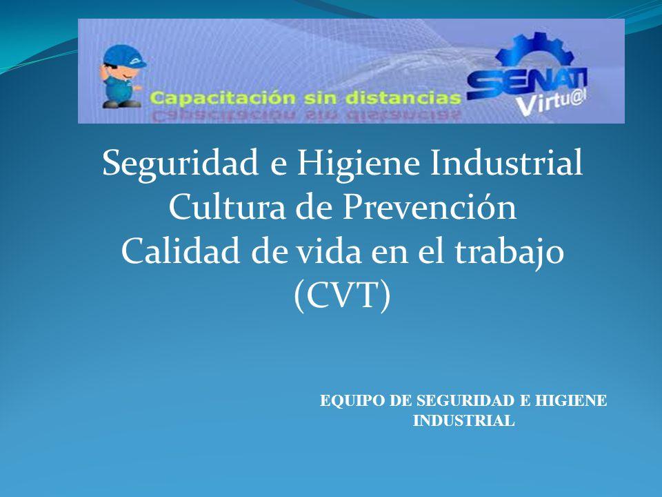 EQUIPO DE SEGURIDAD E HIGIENE INDUSTRIAL