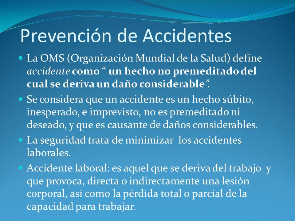 Prevención de Accidentes