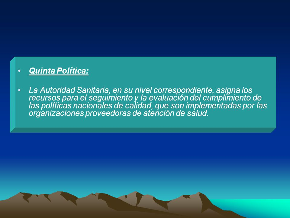 Quinta Política: