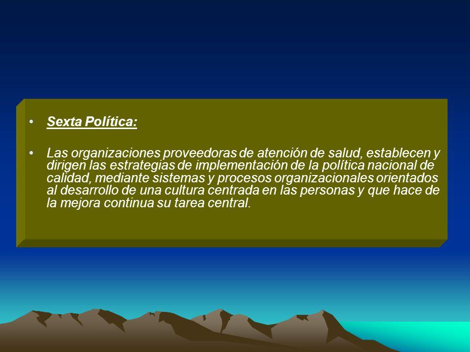 Sexta Política: