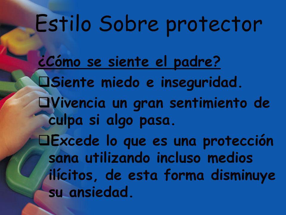 Estilo Sobre protector