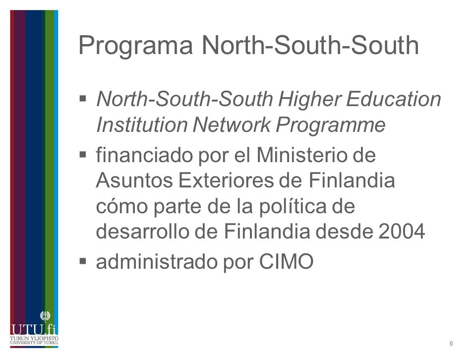 Programa North-South-South