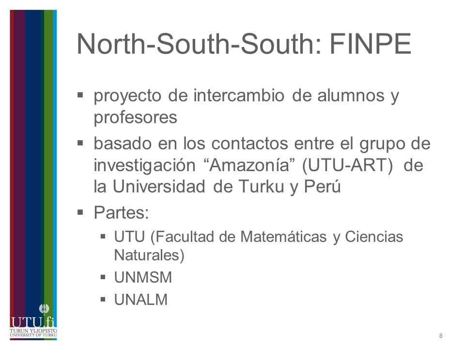 North-South-South: FINPE