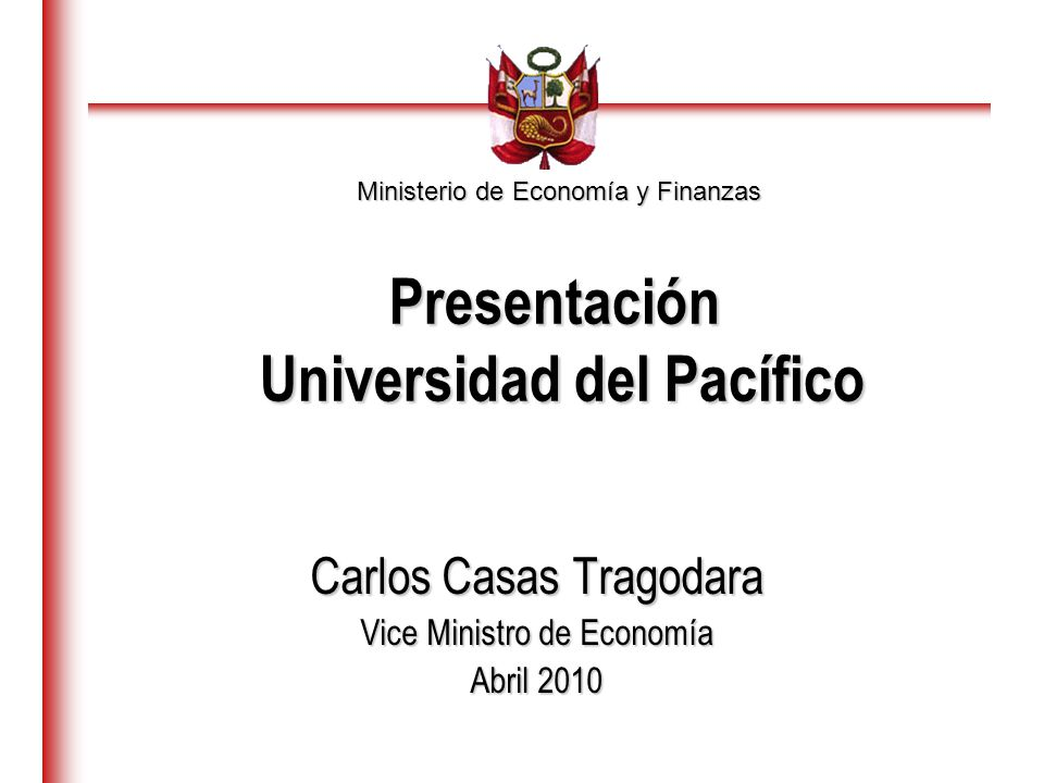 Presentación Universidad del Pacífico
