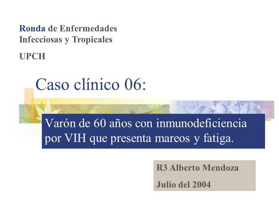 Ronda de Enfermedades Infecciosas y Tropicales
