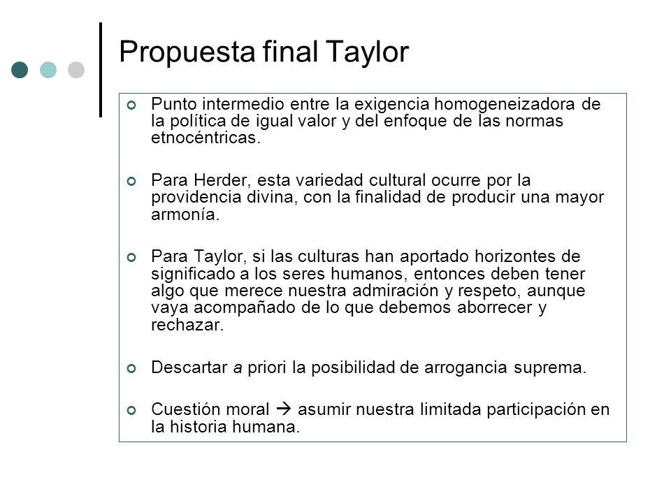 Propuesta final Taylor