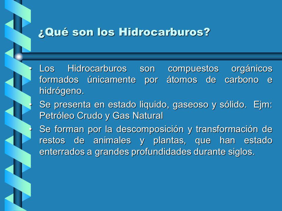 ¿Qué son los Hidrocarburos