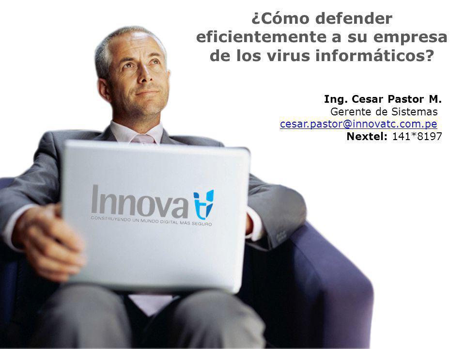¿Cómo defender eficientemente a su empresa de los virus informáticos