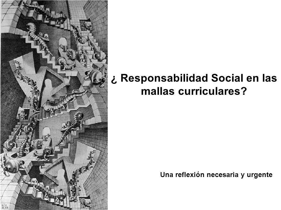 ¿ Responsabilidad Social en las mallas curriculares