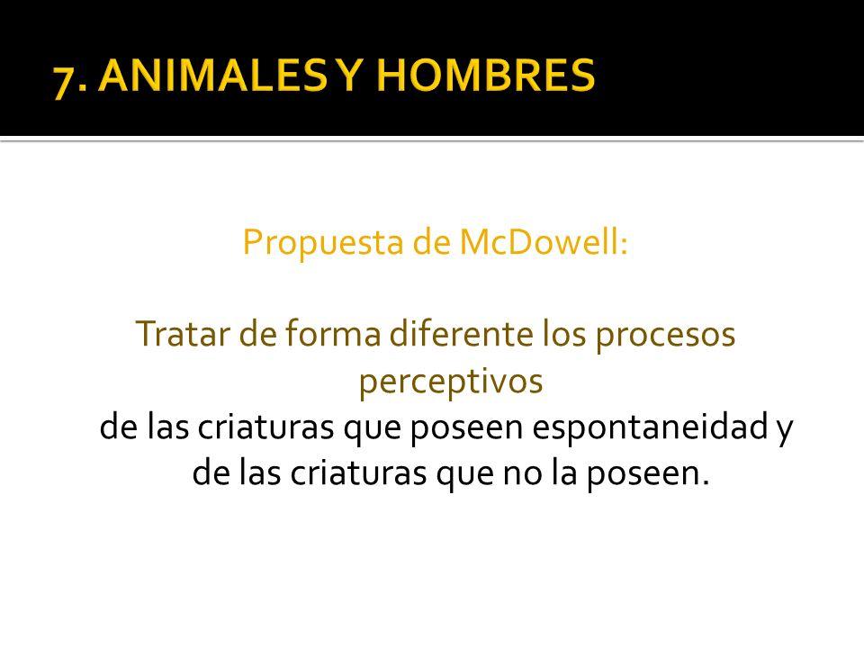 7. ANIMALES Y HOMBRES