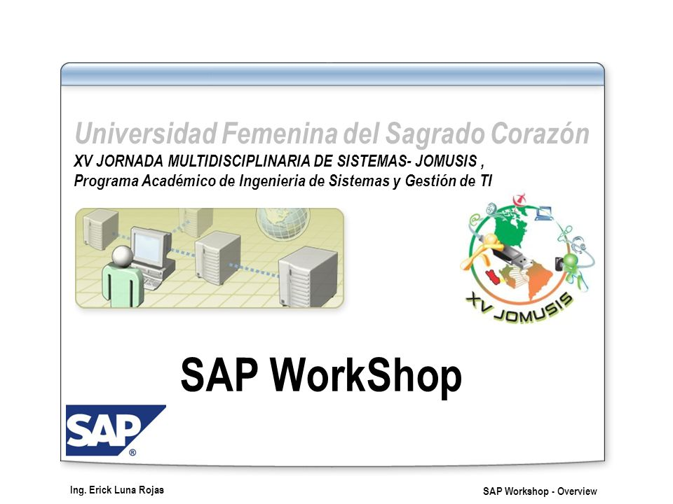 SAP WorkShop Universidad Femenina del Sagrado Corazón