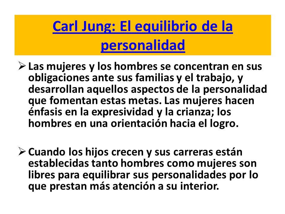 Carl Jung: El equilibrio de la personalidad