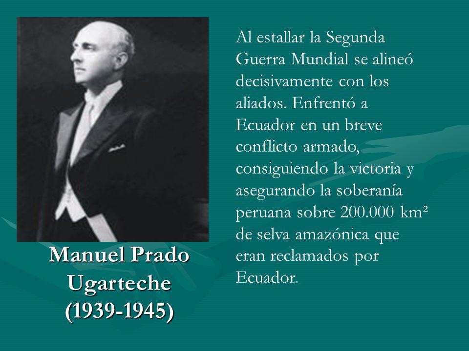 Manuel Prado Ugarteche (1939-1945)