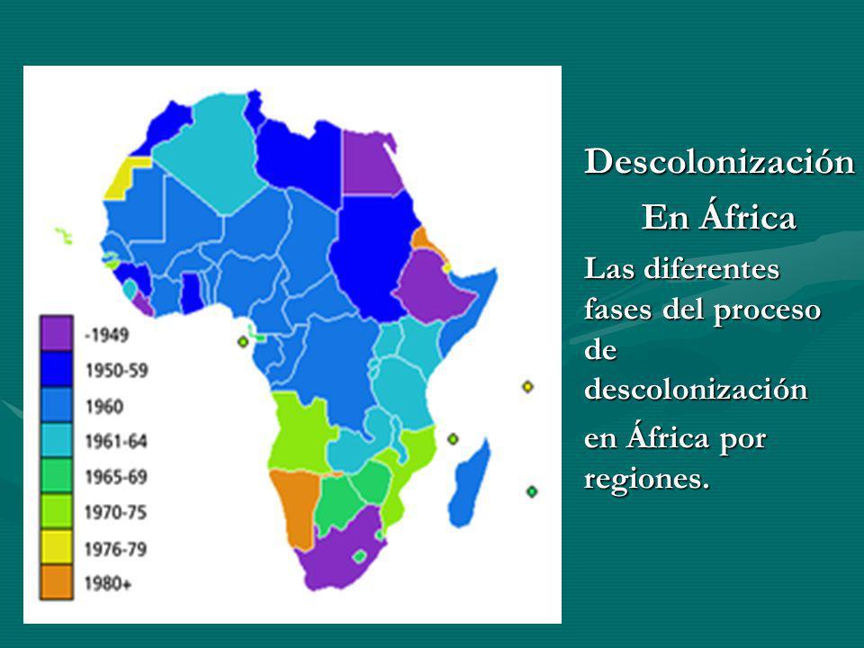 Descolonización En África
