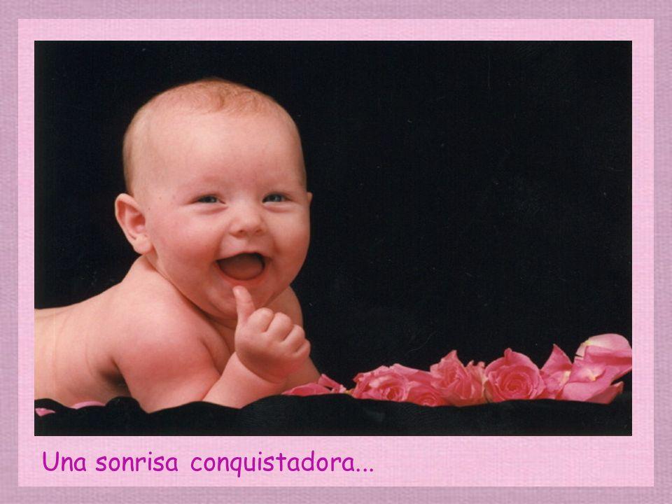 Una sonrisa conquistadora...