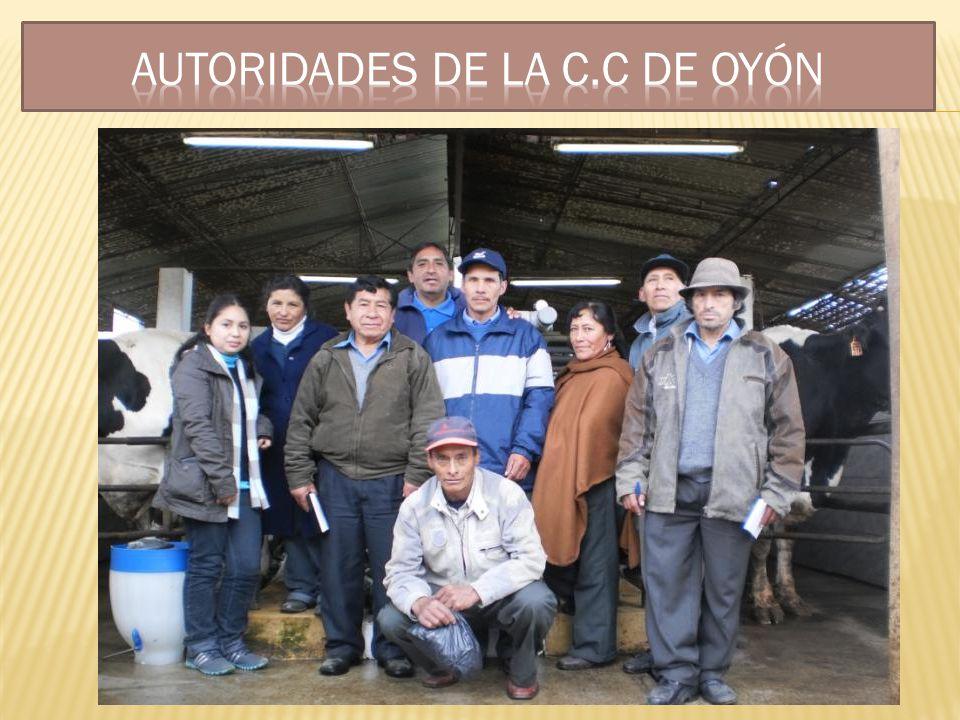 Autoridades de LA C.C DE Oyón