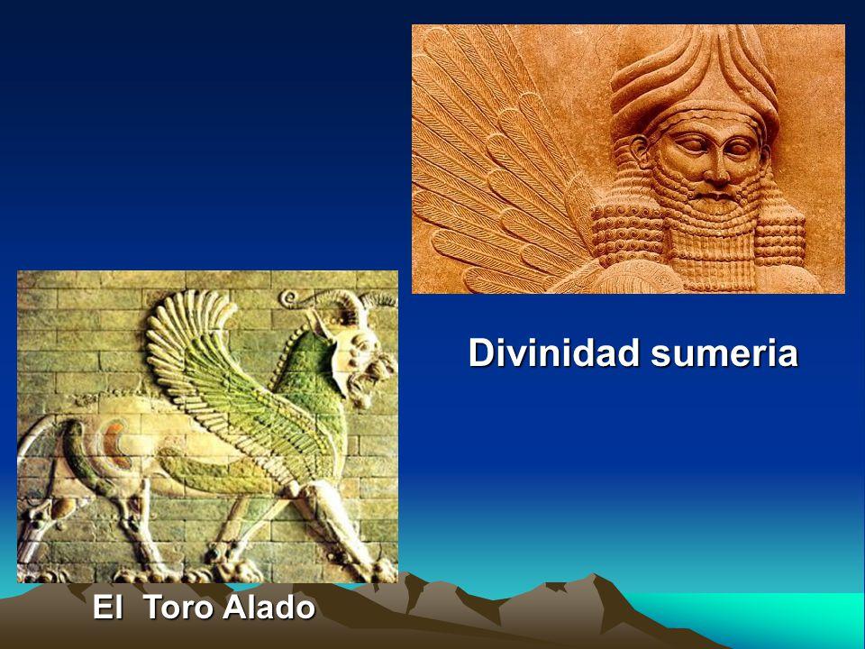 Divinidad sumeria El Toro Alado
