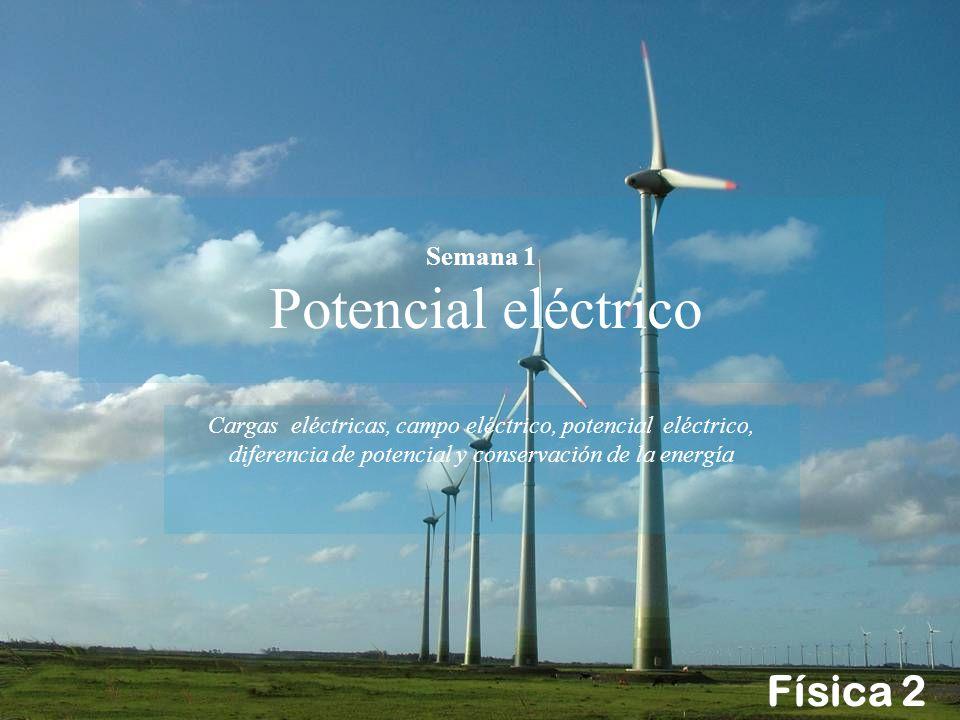 Semana 1 Potencial eléctrico