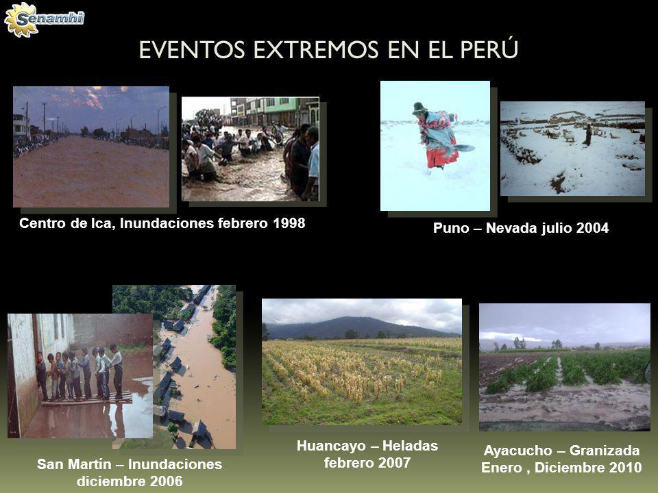 EVENTOS EXTREMOS EN EL PERÚ