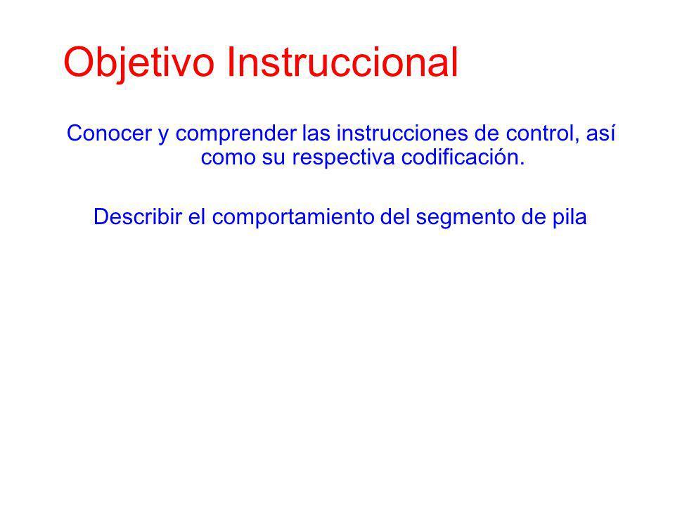 Objetivo Instruccional