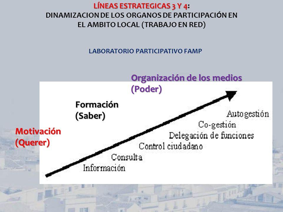 Organización de los medios (Poder)