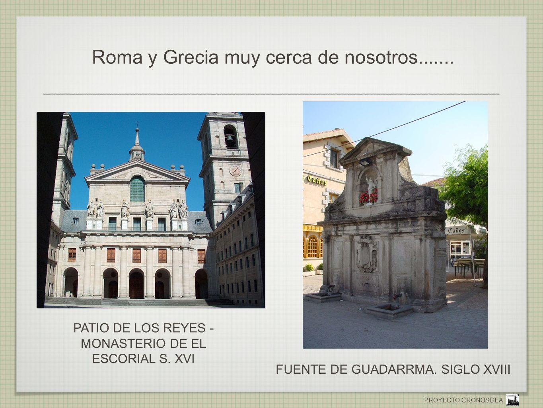Roma y Grecia muy cerca de nosotros.......
