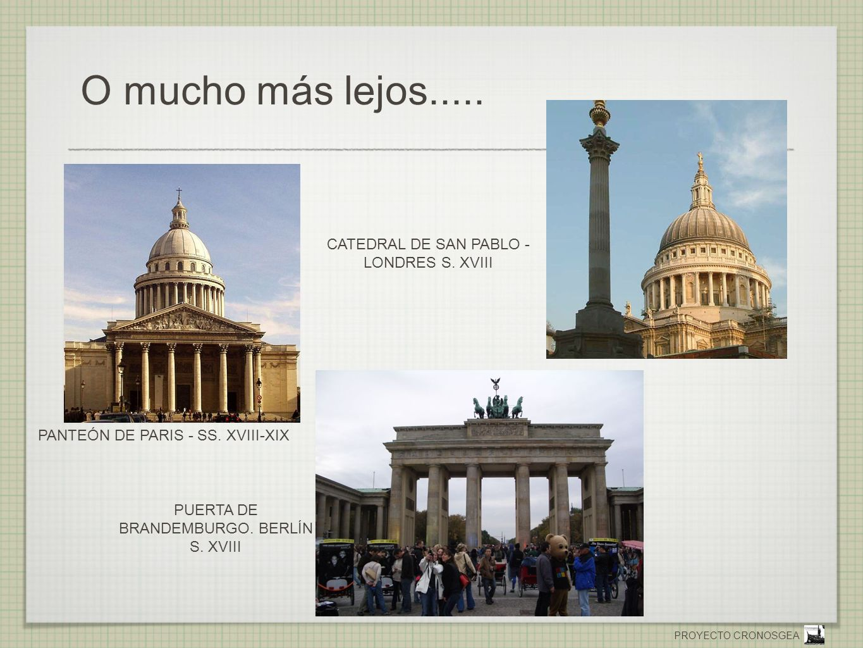 O mucho más lejos..... CATEDRAL DE SAN PABLO - LONDRES S. XVIII