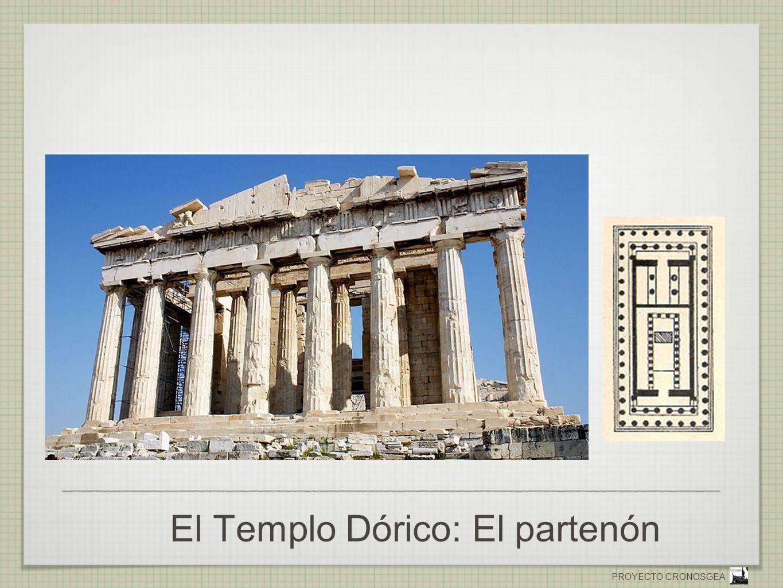 El Templo Dórico: El partenón
