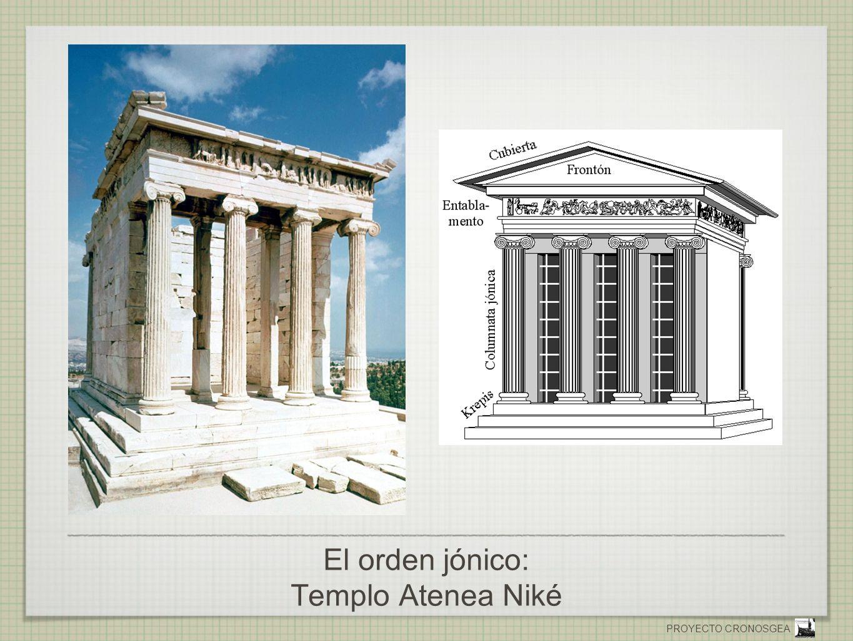 El orden jónico: Templo Atenea Niké