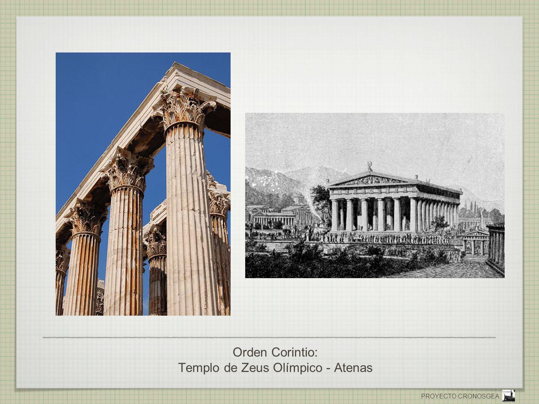 Orden Corintio: Templo de Zeus Olímpico - Atenas