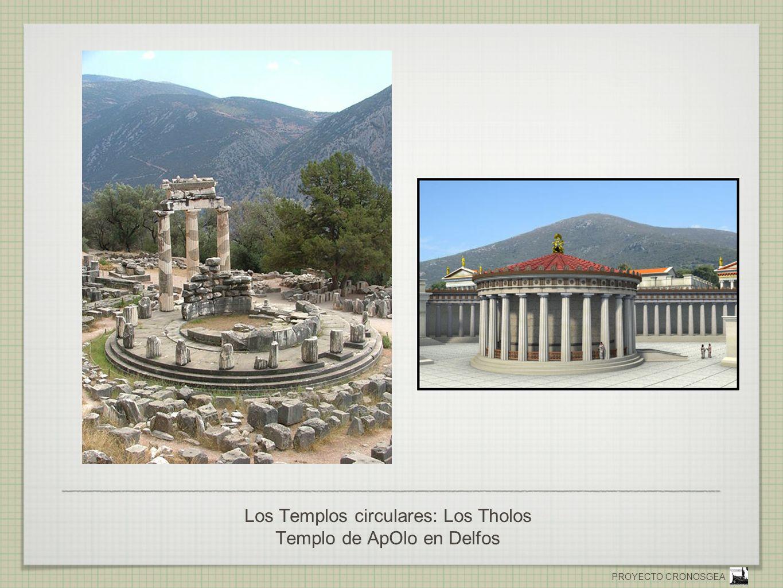 Los Templos circulares: Los Tholos Templo de ApOlo en Delfos