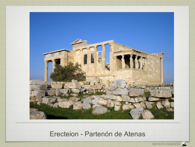 Erecteion - Partenón de Atenas
